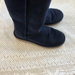 Kookaburra by UGG Navy Blue Leather Boots Sz 5